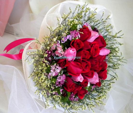 KLHB7734 (Red & Pink Roses)