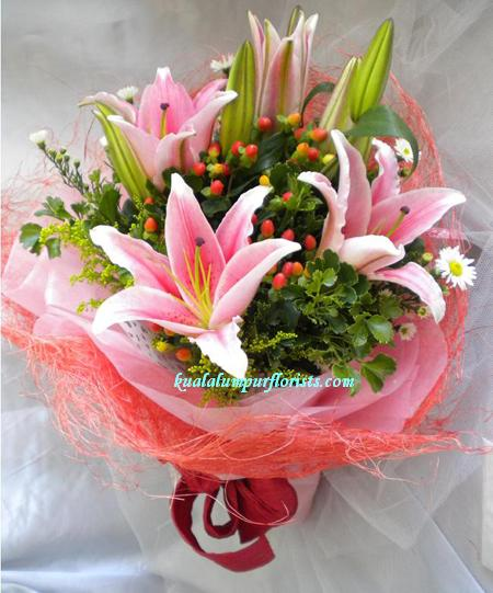 KLHB8293 (Pink lilies)